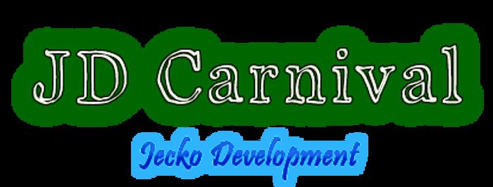 JD Carnival Font poster