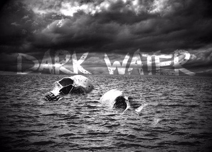 Dark Waters Font poster