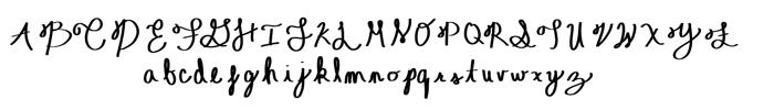 Nepeta Font poster