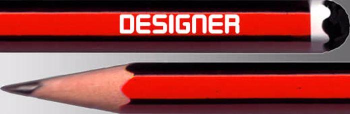 Designer Block Font poster