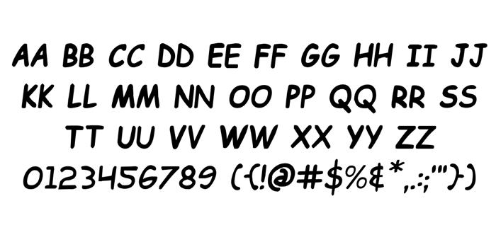 Kid Cobalt Font poster