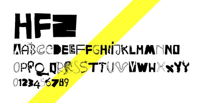 HappyFrushZero Font poster