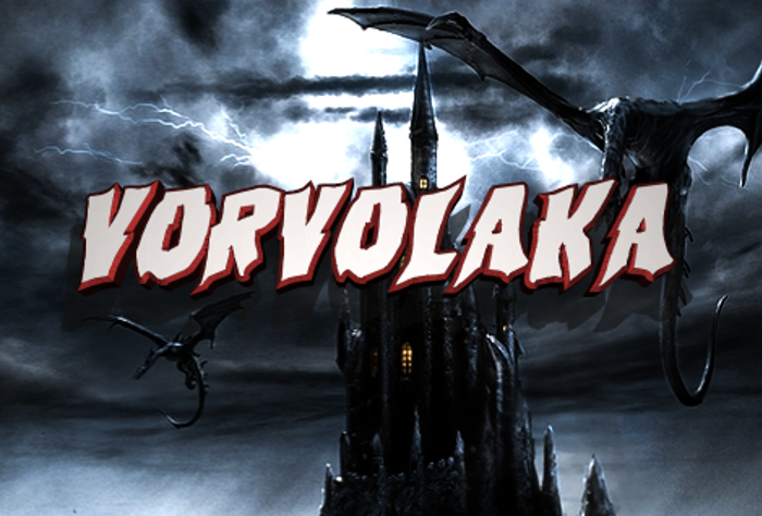 Vorvolaka Font poster