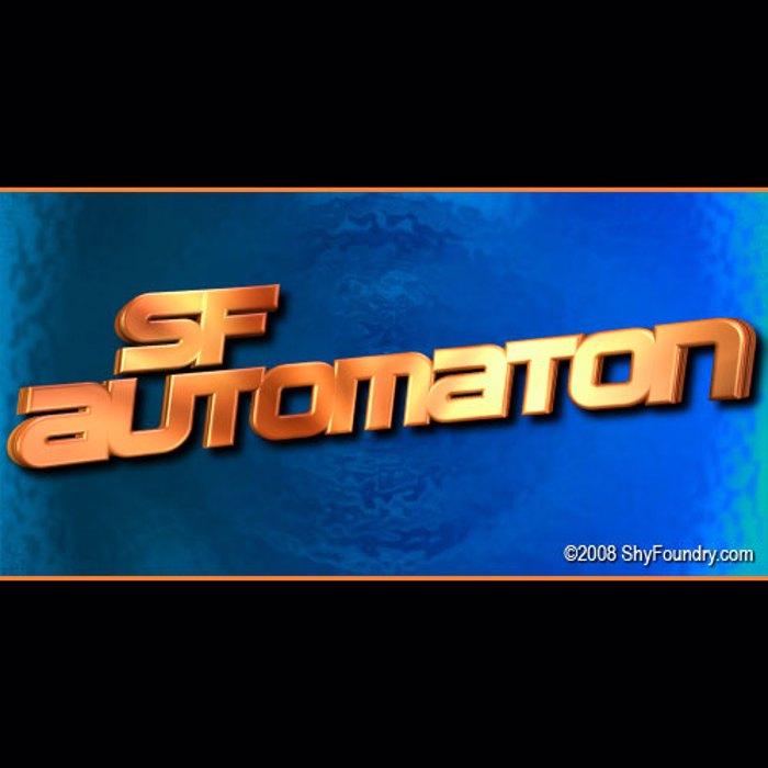 SF Automaton Font poster