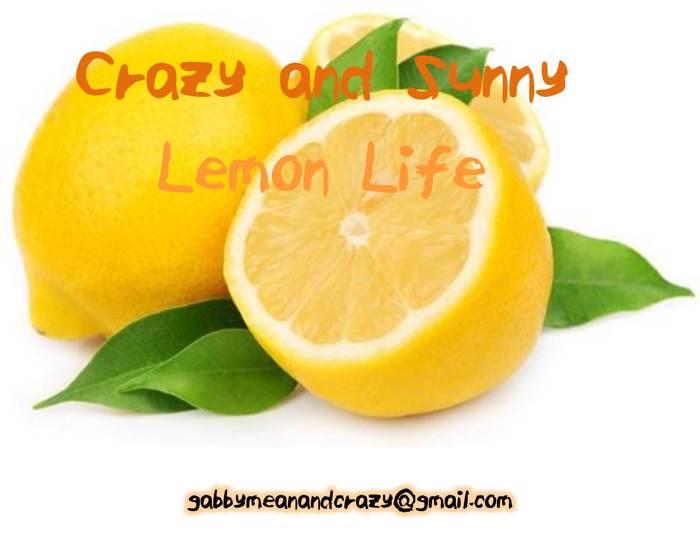 ELF_Crazy_and_Sunny_Lemon_Life Font poster