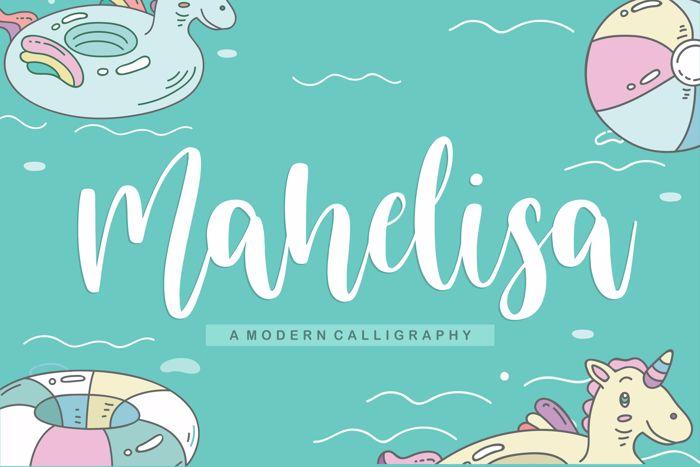 mahelisa Font poster