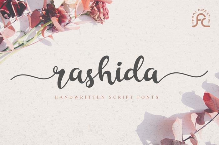 Rashida Script Font