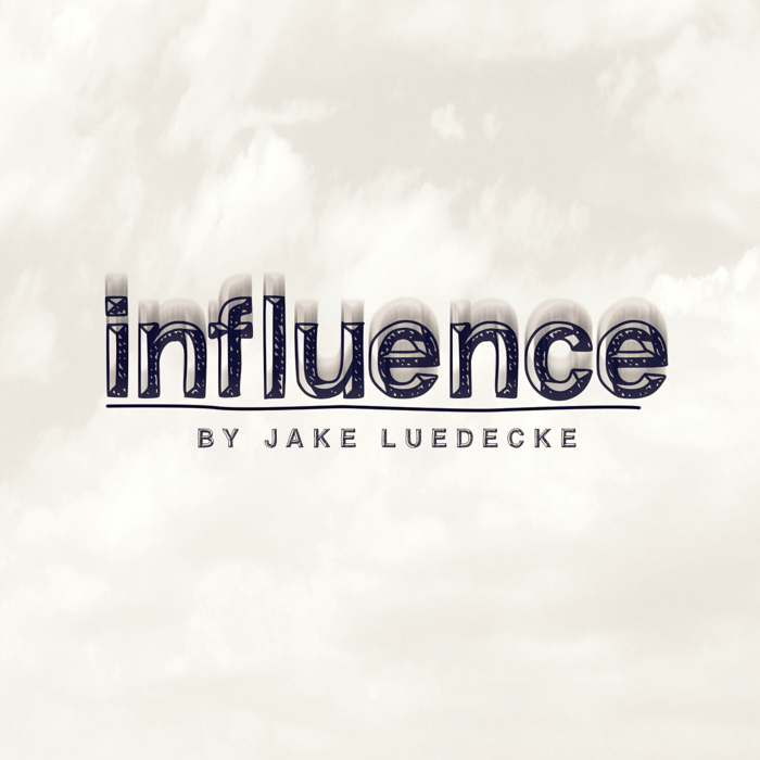 influence Font poster