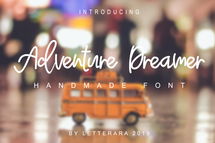 Adventure Dreamer Font