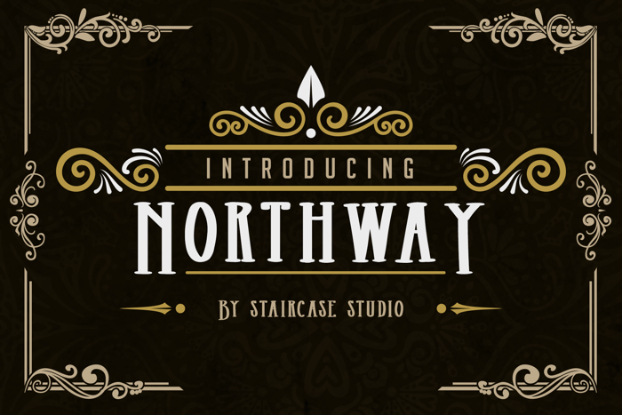 Northway Font poster