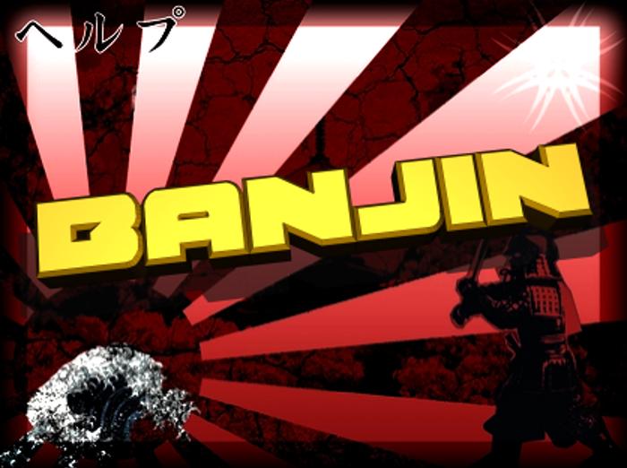 Banjin Font poster