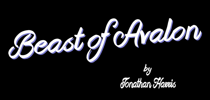 Beast of Avalon Font poster