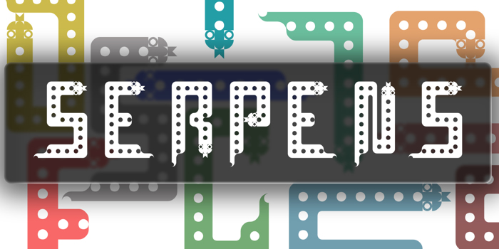 Serpens Font poster