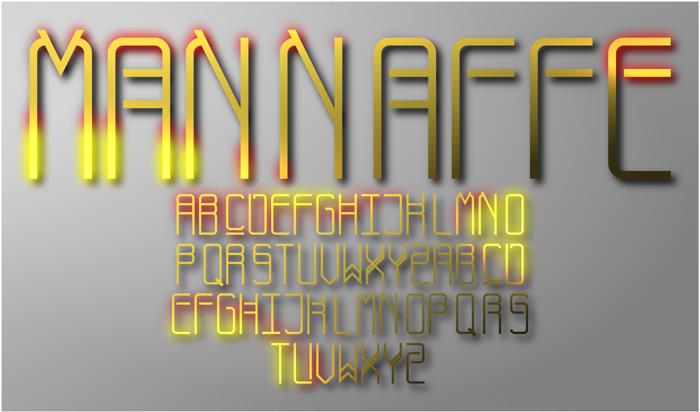 Mannaffe Yunis Font poster