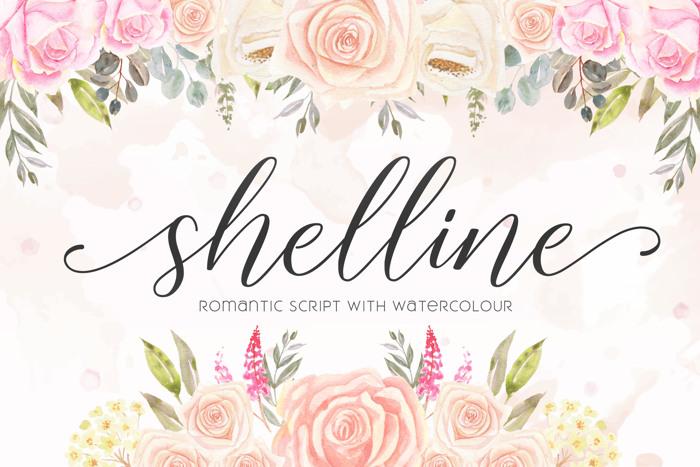 shelline Font