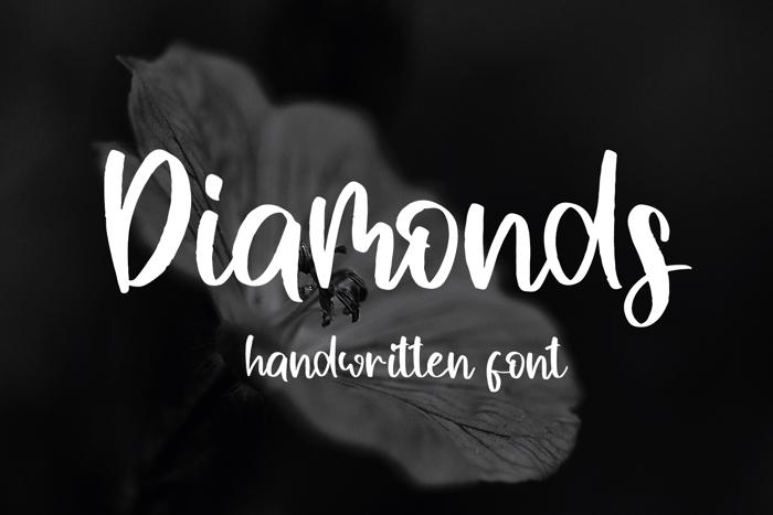 Diamonds Font