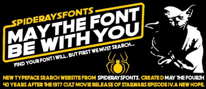 PENCIL STENCIL Font poster