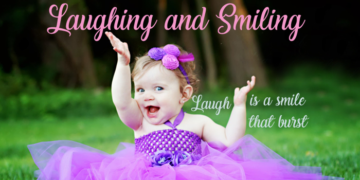 Laughing and Smiling Font poster