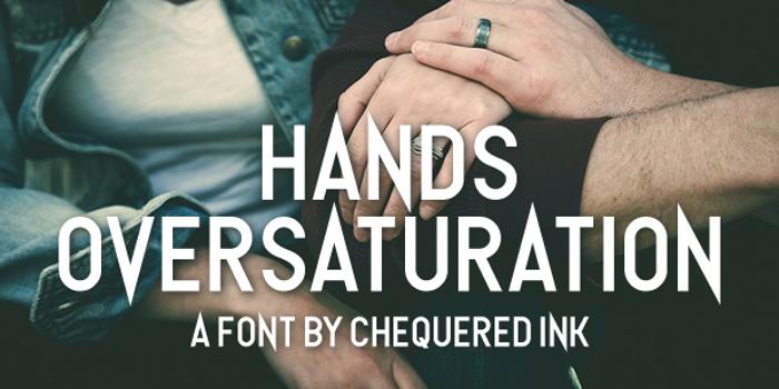 Hands Oversaturation poster