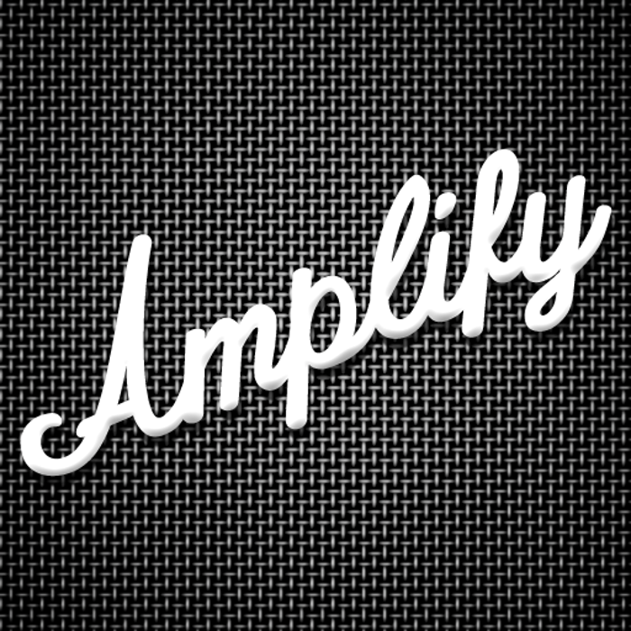 Amplify Font poster