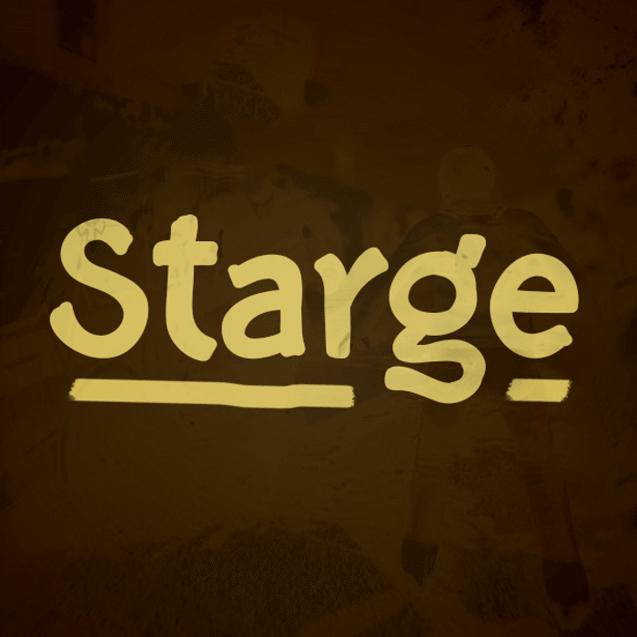Starge Font poster