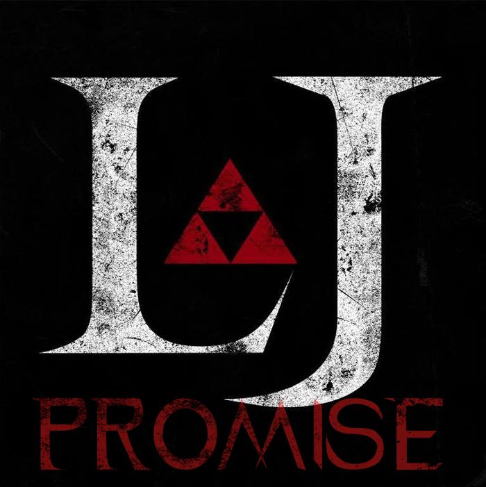 LJ Promise Darck Font poster