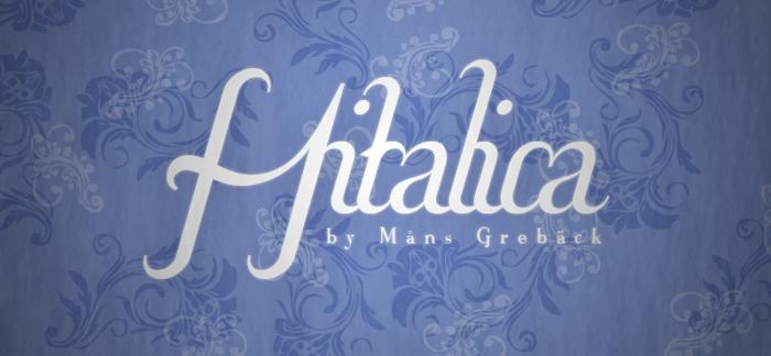 Hitalica  Font poster
