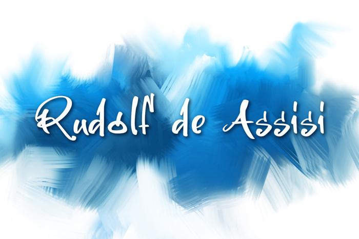 Rudolf De Assisi Font poster