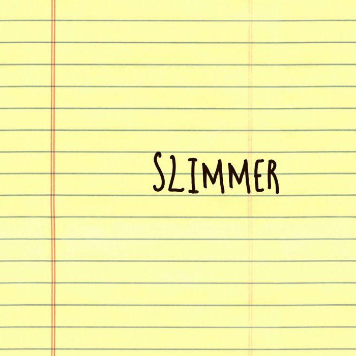 Slimmer Font poster