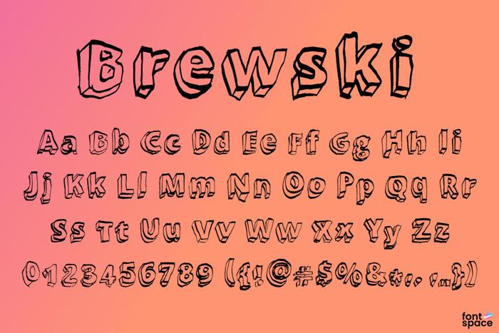 Brewski Font