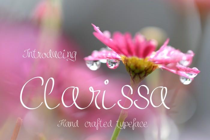 Clarissa Font poster