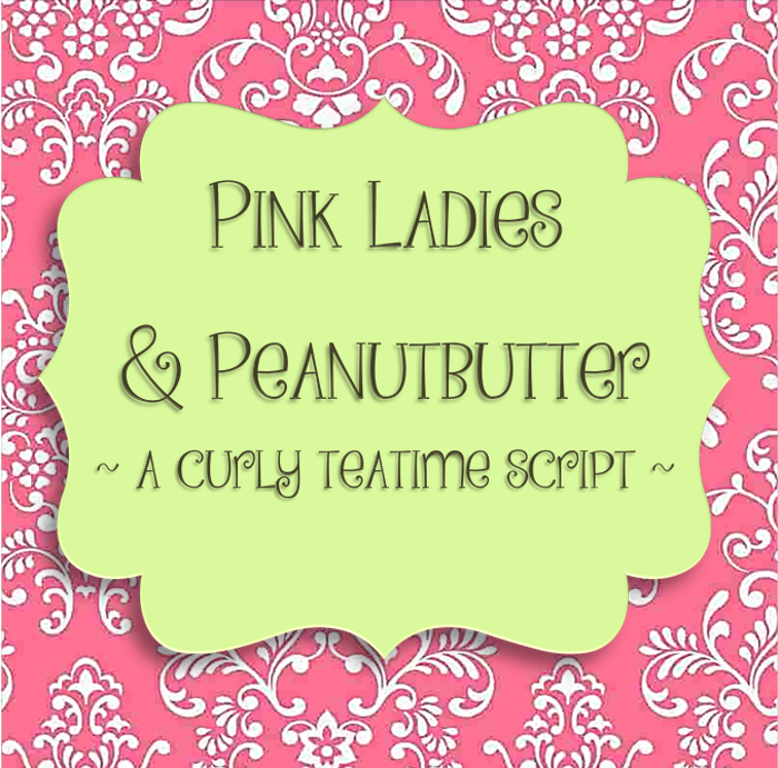 Pink Ladies and Peanutbutte Font poster