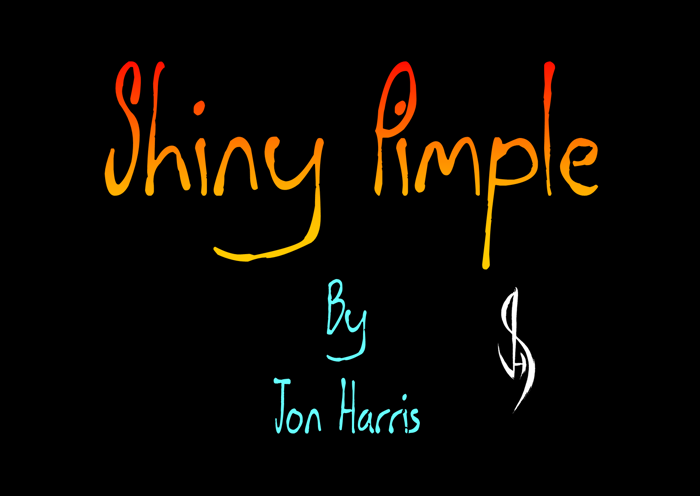 Shiny Pimple Font poster