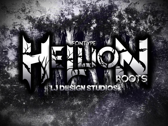 Hellion Font poster