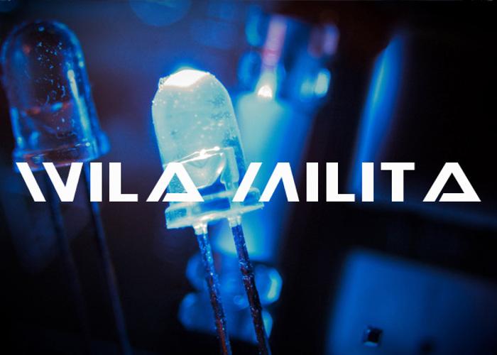 Wila Milita Font poster