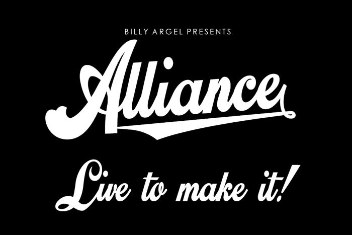 Alliance Font poster
