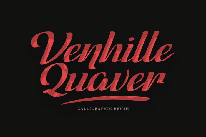 Venhille Quaver Font poster