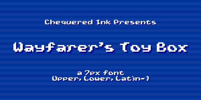 Wayfarer's Toy Box Font poster