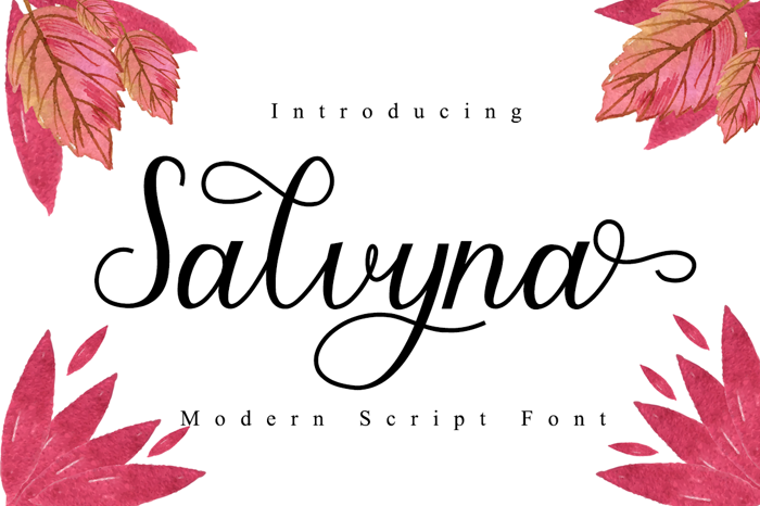 Salvyna Font poster