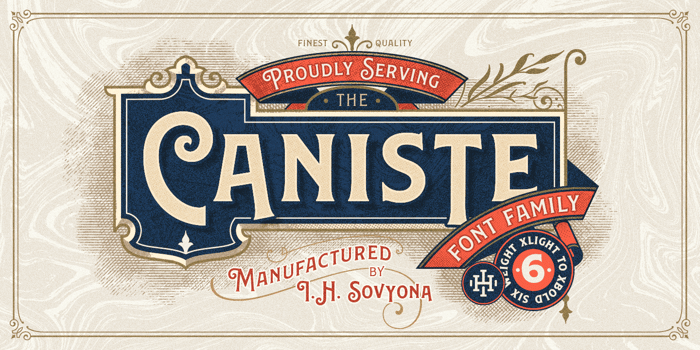 Caniste (Demo) Semibold poster