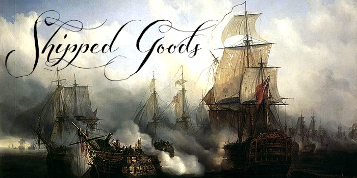Shipped Goods Font poster
