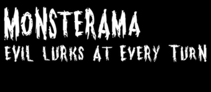 Monsterama Font poster