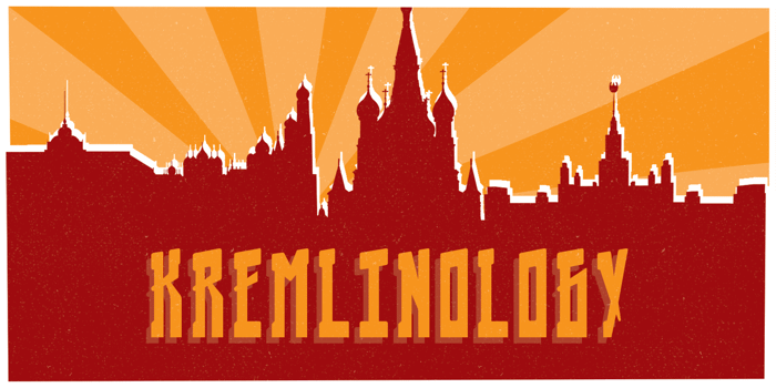 Kremlinology Font poster