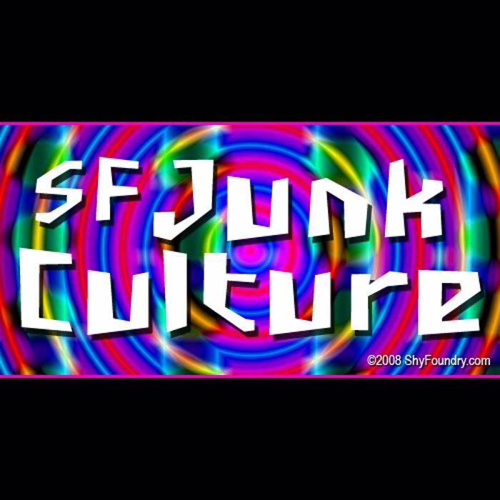 SF Junk Culture Font poster