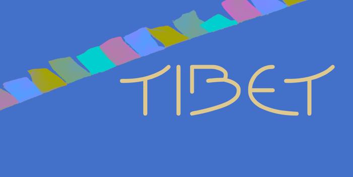 Tibet Font poster