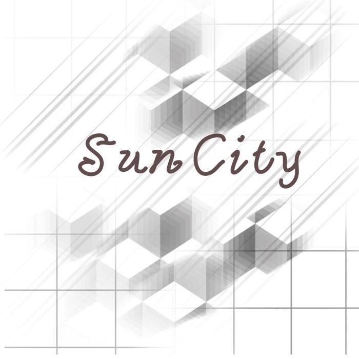 Sun City Font poster