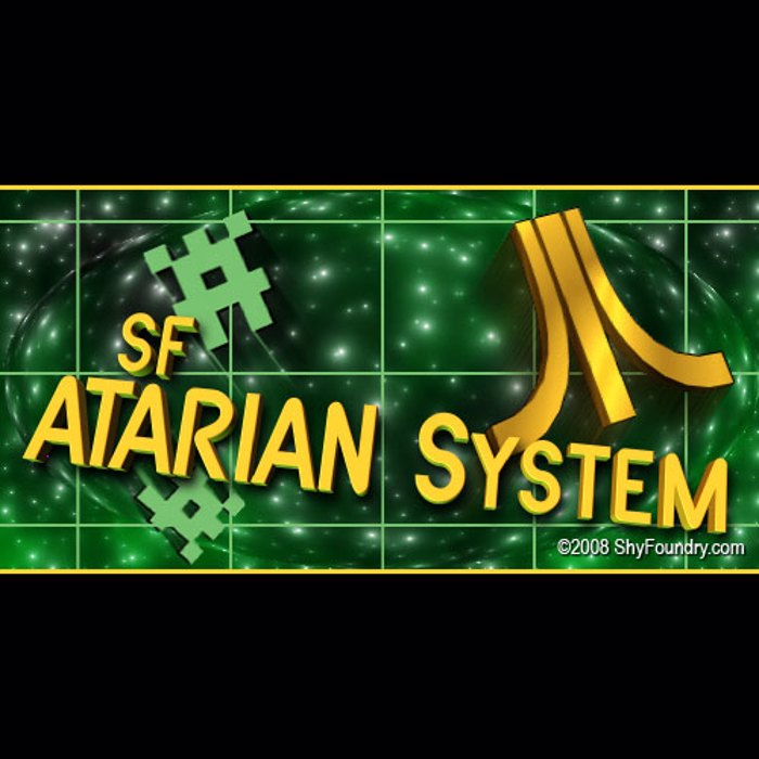 SF Atarian System Font poster