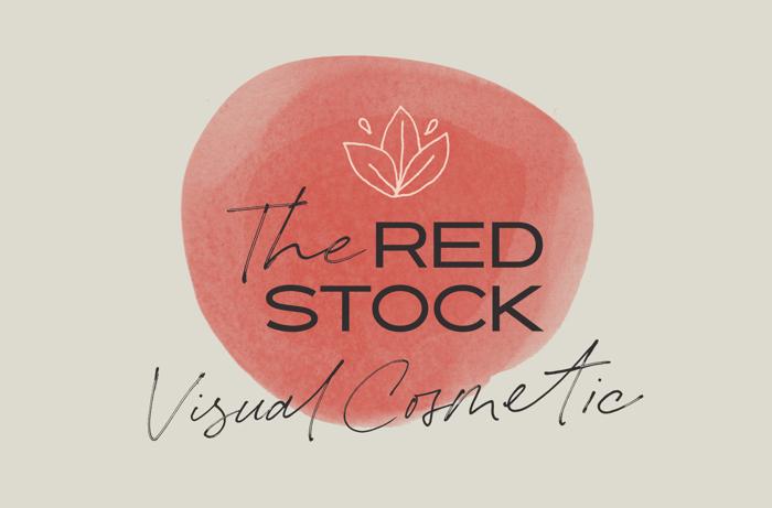 Redstock Script Font poster