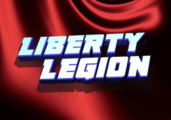 Liberty Legion Font poster