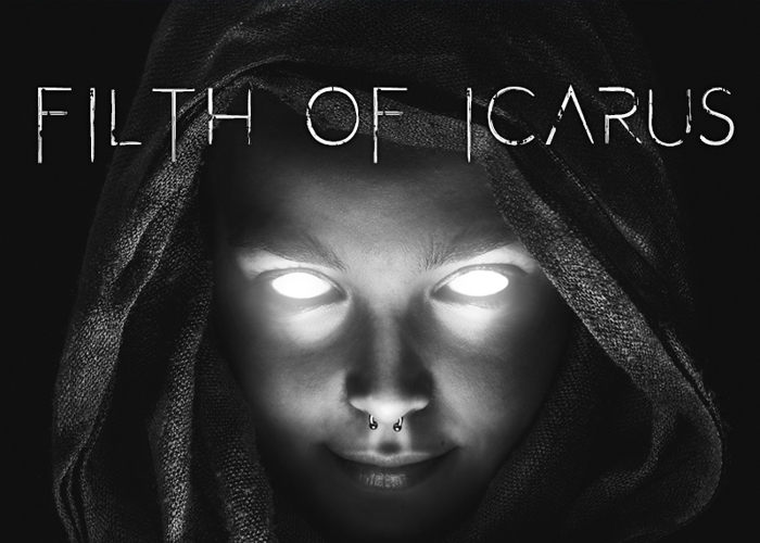 Filth of Icarus Font poster